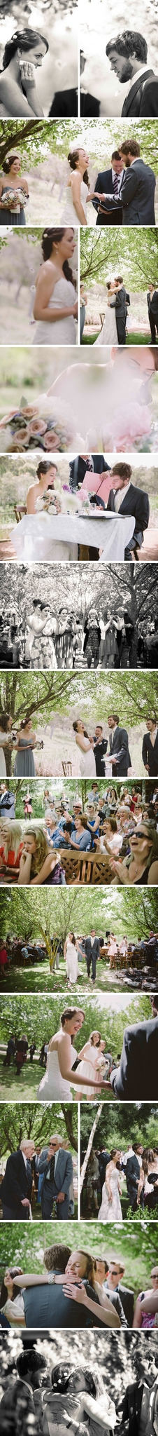 DIY Rustic Redbrow Garden Wedding Photos