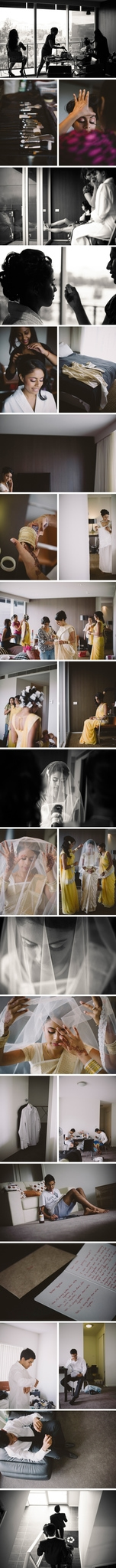 Canberra National Portrait Gallery Wedding Photos