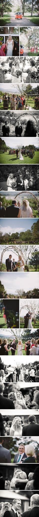 Rustic Lanyon Homestead Wedding Photos