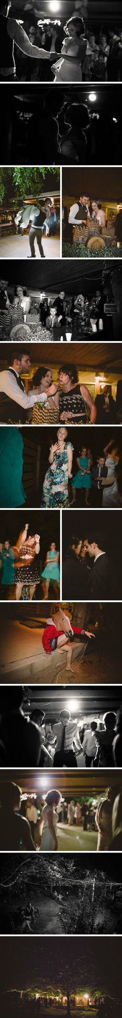Rustic Redbrow Garden Wedding Photos