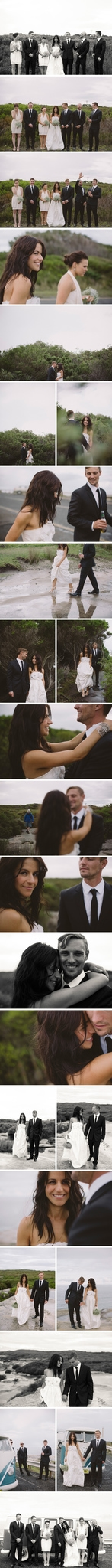 Relaxed Cronulla Beach Wedding Photos