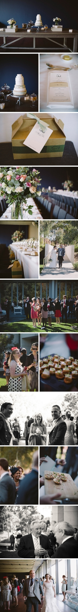 National Gallery of Australia Wedding