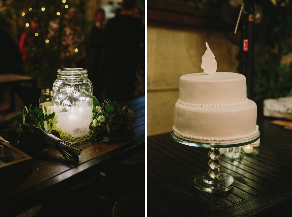 Mint Garden Bar Wedding